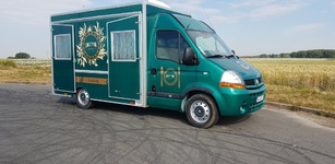 Boulanger ambulant food truck